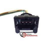 Soquete Plug Conector Sensor Map Palio/uno 3 Vias