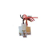 Soquete Plug Conector Rele Auxiliar/farol Milha/neblina/xeno