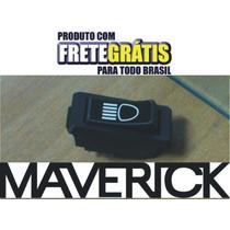Botão Tecla Interruptor Farol Milha Console Ford Maverick