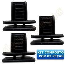 Kit 3 Peças Grampo Fixação Coluna Interna Omega E Suprema