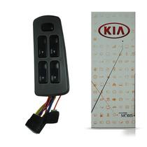 Interruptor Botão Vidro Elétrico Sportage 94 A 03 Quadruplo