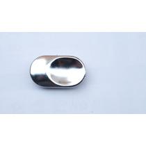 Botão Falso Cromado Do Puxador Interno Gm Vectra 97 Á 05