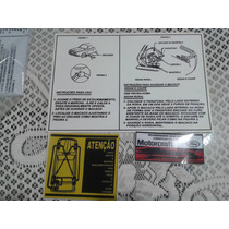 Corcel 1 Adesivos Do Porta Mala E Motor