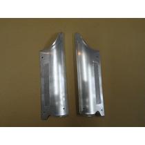 Acessório Protetor Pé Coluna Fusca Polaina Alumínio Par