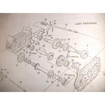 Engrenagem Reduzida Caixa De Transferencia F22000 Traçado