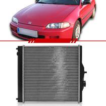 Radiador Civic 1.6 99 2000 Com Ar Condicionado Transmissão