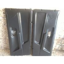 Forro Porta Diant Santana 85/91 2 Portas Preto 2 Lados