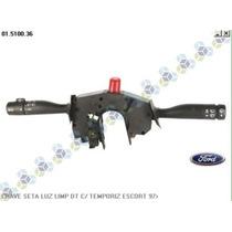 Chave Seta Luz Limpador Dt C/ Temporizador Escort 97/...