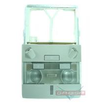 Console Luz De Teto Cinza Para Gm Vectra 09 À 11