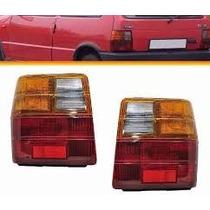 Lanterna Traseira Fiat Uno 1985/2004 Todos Tricolor L D L E