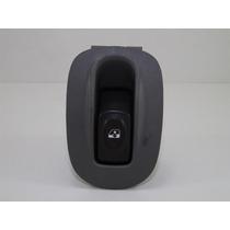 Botão Vidro Eletrico Com Moldura Renault Clio Cinza 6 Pinos