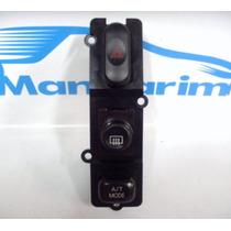 Botão Pisca Alerta Desembaçador E A/t Mode Mit Pajero L200