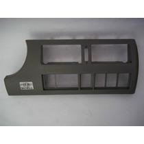 Moldura Painel Central Gol / Par / Sav G3 Cinza Flanel