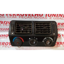 Moldura Comando Ar C/ Difusor Ford Escorty Original
