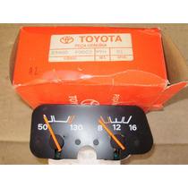 Indicador Temperatura E Voltimetro - Toyota Bandeirante