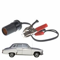 Adaptador Acendedor Cigarro Para Baterias - Carros Antigos
