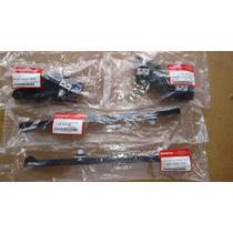 Trava Parachoque Traseiro Civic 01 Até 06 Kit Com 4 Pcs Orig