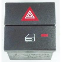 Botão Interruptor Trava E Pisca Alerta Gm Vectra 93307964