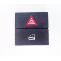 Botão Interruptor D Trava E Pisca Alerta Original Gm Meriva