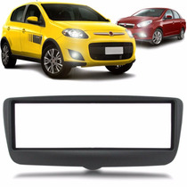 Moldura Painel Original Fiat Palio 2013 1din Dvd Cd Player