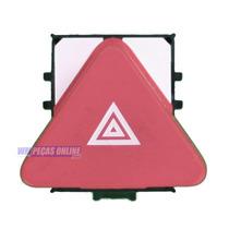 Botão Interruptor D Pisca Alerta D Painel P Vw Tiguan 08 013