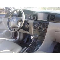 Moldura Painel 2 Din Dvd Multimidia Toyota Corolla Preta