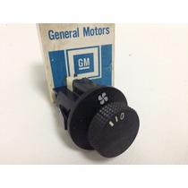 Botão Interruptor Do Ventilador Chevette E D20 Original Gm