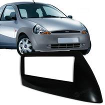 Moldura Painel 1din Ford Ka 2000 - Preto