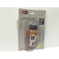 Acendedor De Cigarro Para Carro 12v Laranja - Gps/celular