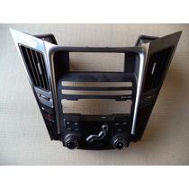 Moldura Central De Radio D Painel P Hyundai Sonata Completa