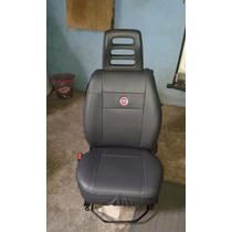 R7 Capa De Banco De Couro Courvin Fiat Ducato 16 Lugares