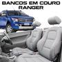 Capa Banco De Couro Ranger - Acessórios Ranger - 100% Couro