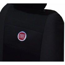 Capas De Banco Tecido Orignal Espcial Logomarca Fiat Bordada