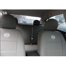Capa De Courvin Imitação De Couro Para Nissan Versa