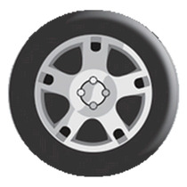 Capa Para Estepe Maxine Ford Ecosport Roda