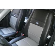 Capa Automotiva De Couro Courvin Ford Fiesta Duas Cores