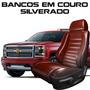Capas Banco De Couro Silverado - Peças Silverado - Couro