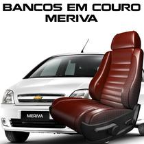 Acessorios Meriva - Capas De Banco 100% Em Couro Meriva