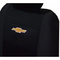 Capas De Banco Tecido Orignal Especial Logomarca Gm Bordada