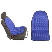 Assento Massageador Carro Encosto Automotivo Universal Azul