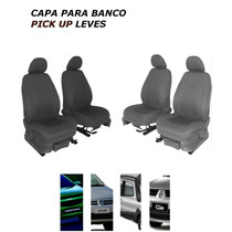Capa Para Banco Pick Up Leves (strada/saveiro/montana)