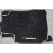 Jogo Tapete Carpete Base Borracha Toyota Corolla Filder