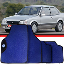 Jogo Tapete Automotivo Carro Logus Pointer Apollo Azul