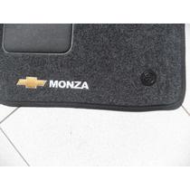 Tapete Monza Todos Carpete Bordado Personalizado Com 5 Peças