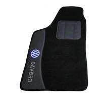 Vw Saveiro G1 A G5 Jogo De Tapete Personalizado Carpet Preto