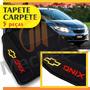 Tapete Carpete Bordado Personalizado Onix 5 Peças + Para-sol
