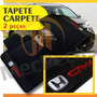 Tapete Carpete Bordado Cr-v 2008 09 10 2011 2012 + Para-sol
