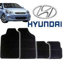 Tapete Borracha Pvc Hyundai Accent 94 95 96 97 98 99 - 4pçs