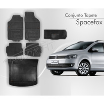 Tapete Spacefox 5pcs + Porta Malas Borracha Borcol
