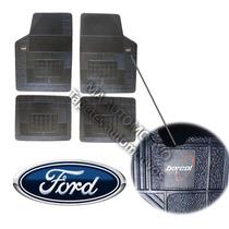 Corcel 78/86 Ford Tapete Borcol Borracha 4pçs